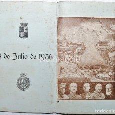 Coleccionismo Papel Varios: REVISTA DE INICIO DE LA GUERRA CIVIL. 18 JULIO 1936. FRANCO PARTE DE CANARIAS. TENERIFE.. Lote 221744572