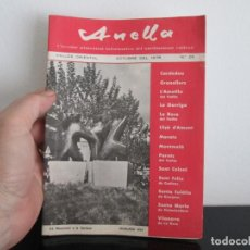 Coleccionismo Papel Varios: ANELLA CIRCULAR TRIMESTRAL INFORMATIVA DEL SARDANISME VALLESA OCTUBRE 1978 Nº 28. Lote 221871136
