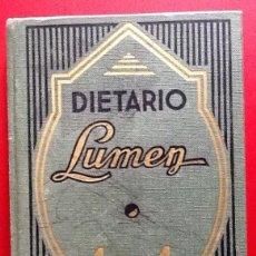 Coleccionismo Papel Varios: DIETARIO LUMEN 1981.ENVIO INCLUIDO.. Lote 221939285