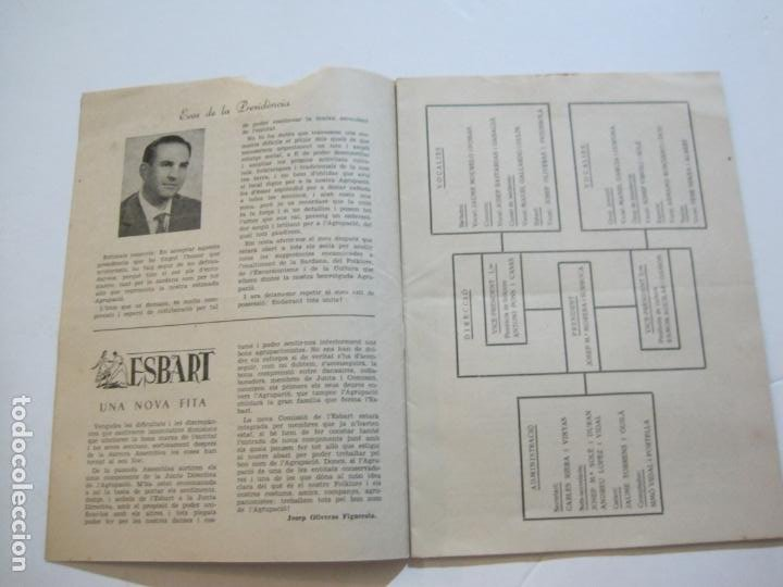 Coleccionismo Papel Varios: AGRUPACION CULTURAL FOLKLORICA BARCELONA-REVISTA ANTIGUA-Nº 161-JUNIO 1961-VER FOTOS-(K-800) - Foto 7 - 221951407