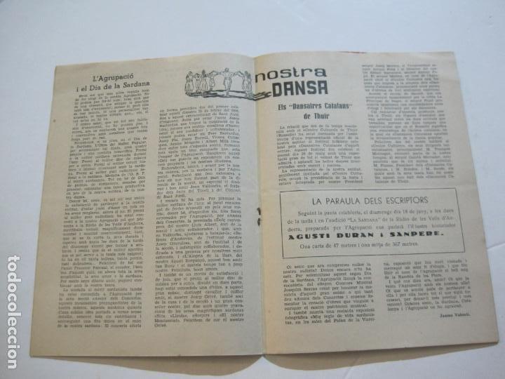 Coleccionismo Papel Varios: AGRUPACION CULTURAL FOLKLORICA BARCELONA-REVISTA ANTIGUA-Nº 161-JUNIO 1961-VER FOTOS-(K-800) - Foto 9 - 221951407