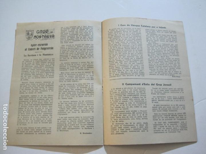 Coleccionismo Papel Varios: AGRUPACION CULTURAL FOLKLORICA BARCELONA-REVISTA ANTIGUA-Nº 161-JUNIO 1961-VER FOTOS-(K-800) - Foto 10 - 221951407