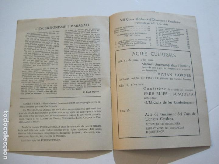 Coleccionismo Papel Varios: AGRUPACION CULTURAL FOLKLORICA BARCELONA-REVISTA ANTIGUA-Nº 161-JUNIO 1961-VER FOTOS-(K-800) - Foto 11 - 221951407