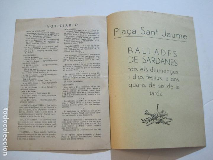 Coleccionismo Papel Varios: AGRUPACION CULTURAL FOLKLORICA BARCELONA-REVISTA ANTIGUA-Nº 161-JUNIO 1961-VER FOTOS-(K-800) - Foto 12 - 221951407