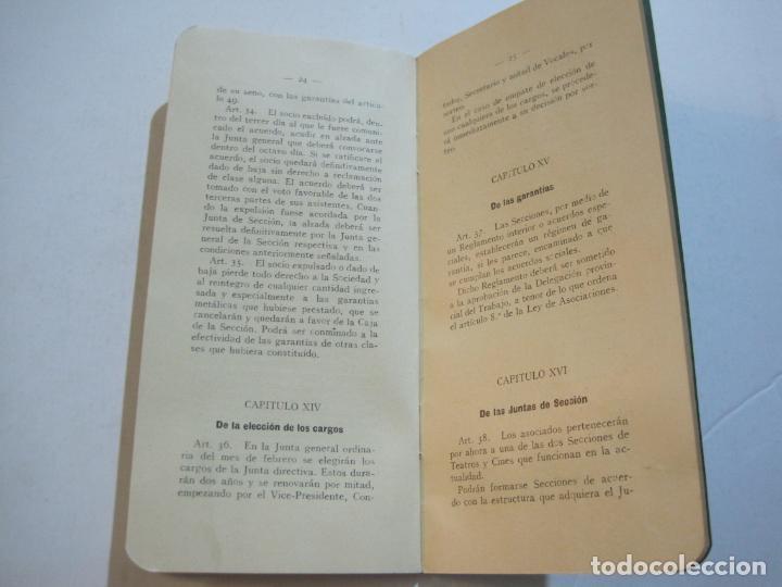 Coleccionismo Papel Varios: BARCELONA-ASOCIACION EMPRESARIOS ESPECTACULOS PUBLICOS DE CATALUÑA-ESTATUTOS 1932-VER FOTOS-(K-805) - Foto 12 - 221953112