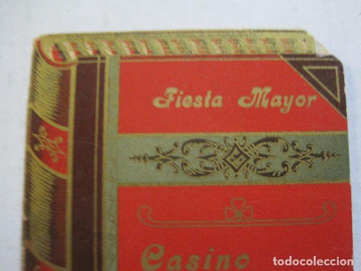 Coleccionismo Papel Varios: SAN ANDRES DEL PALOMAR-CASINO ANDRESENSE-FIESTA MAYOR 1912-PROGRAMA TROQUELADO-VER FOTOS-(74.953) - Foto 3 - 221957360
