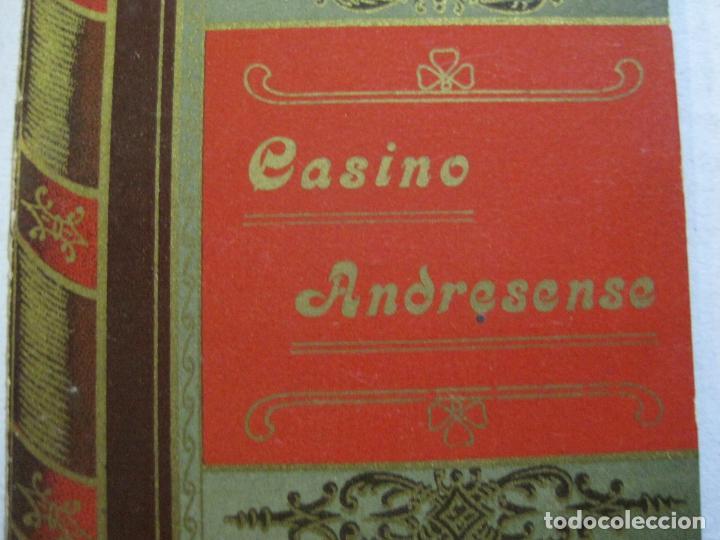 Coleccionismo Papel Varios: SAN ANDRES DEL PALOMAR-CASINO ANDRESENSE-FIESTA MAYOR 1912-PROGRAMA TROQUELADO-VER FOTOS-(74.953) - Foto 4 - 221957360