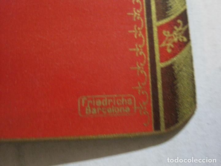 Coleccionismo Papel Varios: SAN ANDRES DEL PALOMAR-CASINO ANDRESENSE-FIESTA MAYOR 1912-PROGRAMA TROQUELADO-VER FOTOS-(74.953) - Foto 13 - 221957360