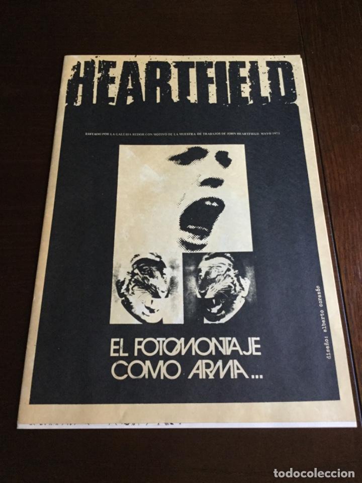 CARPETA 5 SERIGRAFIAS, EL FOTOMONTAJE COMO ARMA. HEARFIELD, MOVIMIENTO DADA (Coleccionismo en Papel - Varios)