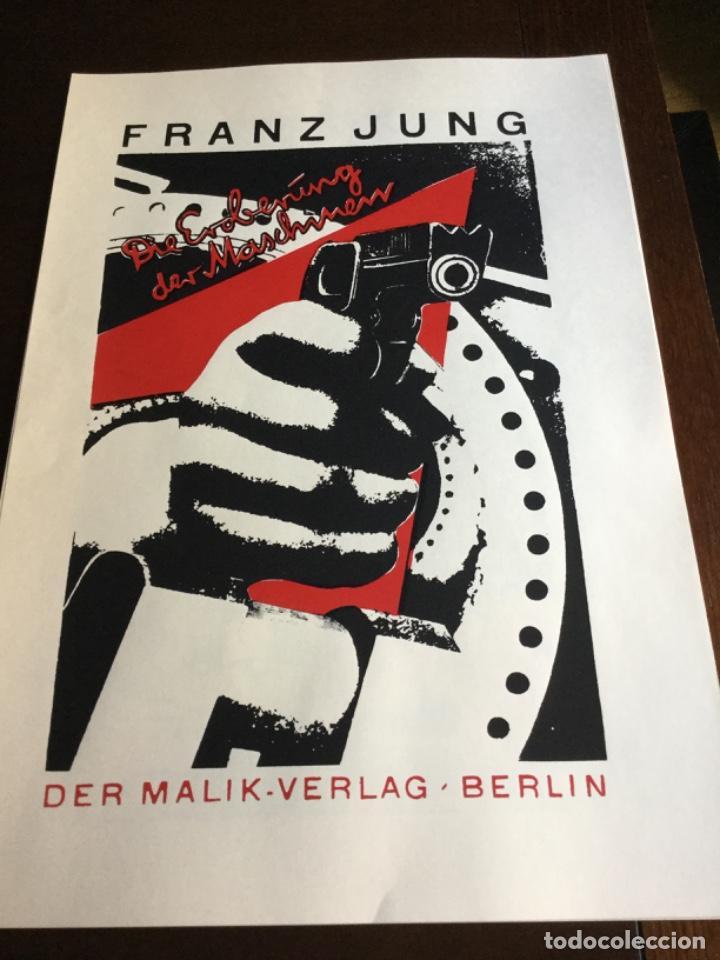 Coleccionismo Papel Varios: Carpeta 5 Serigrafias, el fotomontaje como arma. Hearfield, movimiento Dada - Foto 2 - 222039857