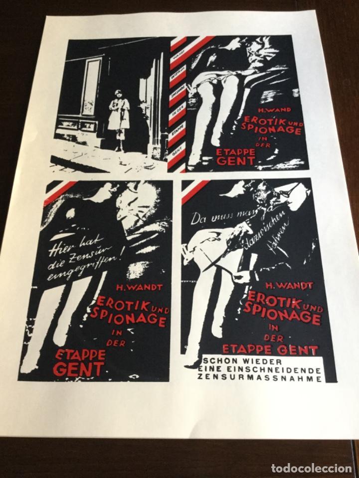 Coleccionismo Papel Varios: Carpeta 5 Serigrafias, el fotomontaje como arma. Hearfield, movimiento Dada - Foto 5 - 222039857