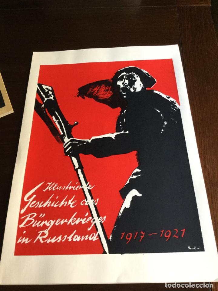 Coleccionismo Papel Varios: Carpeta 5 Serigrafias, el fotomontaje como arma. Hearfield, movimiento Dada - Foto 6 - 222039857