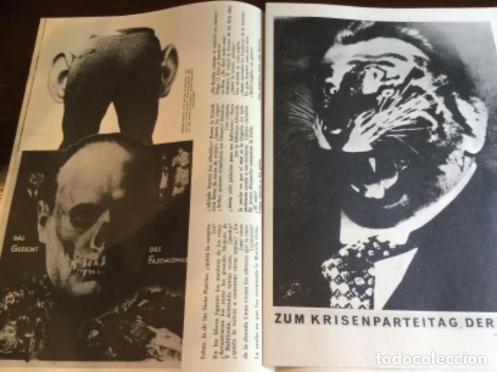 Coleccionismo Papel Varios: Carpeta 5 Serigrafias, el fotomontaje como arma. Hearfield, movimiento Dada - Foto 8 - 222039857