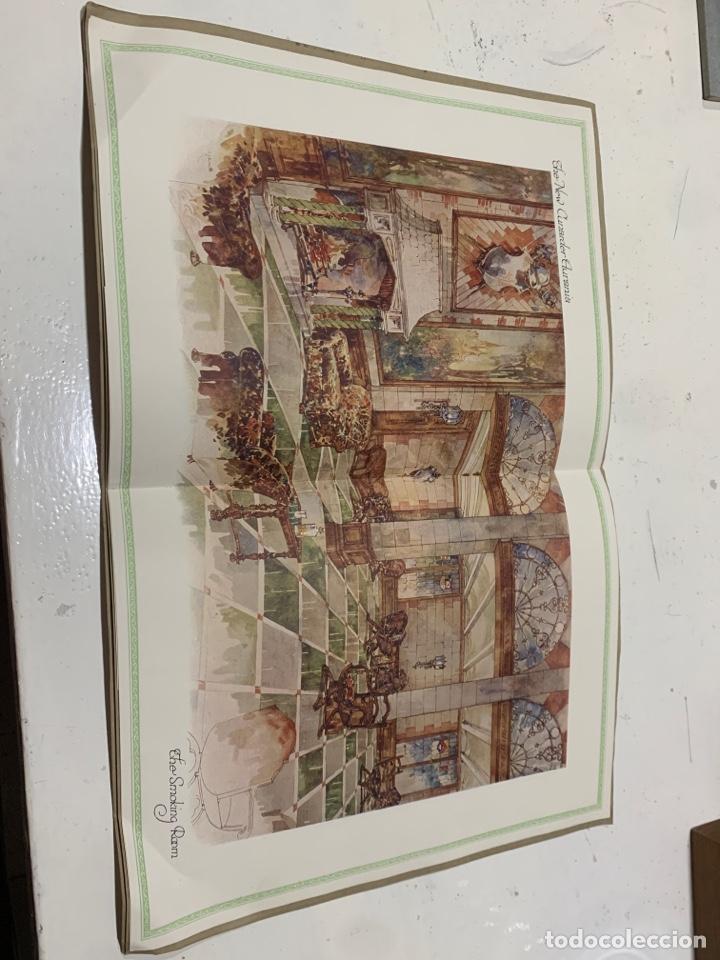 Coleccionismo Papel Varios: Cunarder Aurania del 1924 - Foto 3 - 222119386