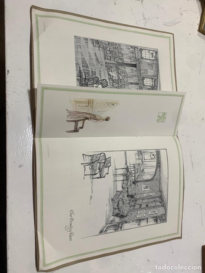 Coleccionismo Papel Varios: Cunarder Aurania del 1924 - Foto 4 - 222119386