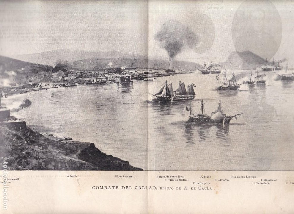 Coleccionismo Papel Varios: MARINA DE GUERRA ESPAÑOLA - LA REVISTA MODERNA 1897 - Foto 2 - 222124500