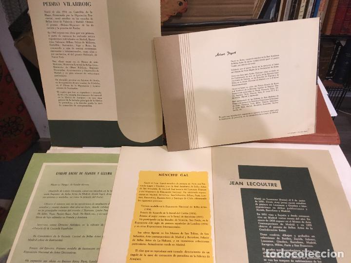 Coleccionismo Papel Varios: Barcelona, laminas de cuadros compañia española de penicilina, belle epoque,laboratorios Miguel. - Foto 3 - 222118298