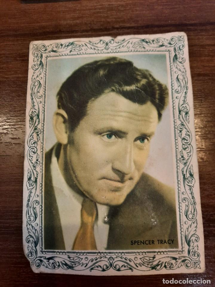Coleccionismo Papel Varios: Publicidad Crema Caffarena, Spencer Tracy. - Foto 2 - 222646067