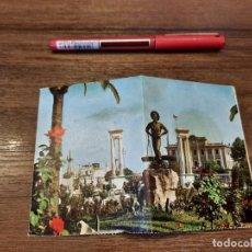 Coleccionismo Papel Varios: DESPLEGABLE RECUERDO DE MÁLAGA.. Lote 222646960