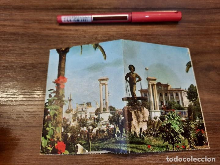 Coleccionismo Papel Varios: Desplegable recuerdo de Málaga. - Foto 2 - 222646960