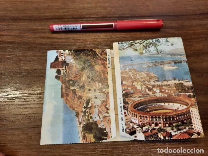 Coleccionismo Papel Varios: Desplegable recuerdo de Málaga. - Foto 4 - 222646960