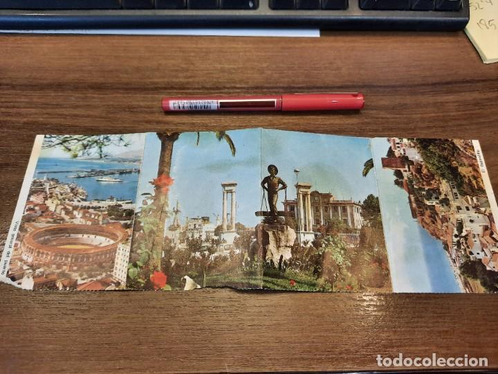 Coleccionismo Papel Varios: Desplegable recuerdo de Málaga. - Foto 5 - 222646960