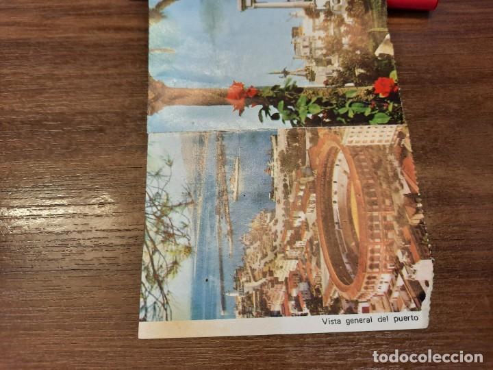 Coleccionismo Papel Varios: Desplegable recuerdo de Málaga. - Foto 7 - 222646960