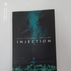 Coleccionismo Papel Varios: INJECTION. Lote 223271750