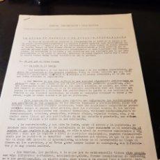 Outros artigos de papel: DOCUMENTACIÓN CARLISTA FRENTES CONCIENCIACIÓN Y LUCHA POLÍTICA LUCHA EN BARRIOS Y EN PUEBLOS INDUSTR. Lote 223336170
