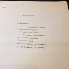 Outros artigos de papel: DOCUMENTACIÓN CARLISTA LA INFORMACIÓN SOBRE LA IGLESIA. Lote 223336233