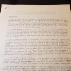 Outros artigos de papel: DOCUMENTACIÓN CARLISTA FRENTE DE LUCHA ESTUDIANTIL. Lote 223336693