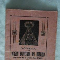 Outros artigos de papel: NOVENA A LA VIRGEN DEL ROSARIO. Lote 223456158