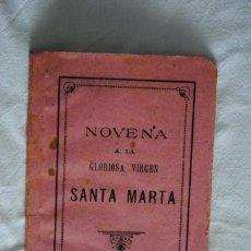 Outros artigos de papel: NOVENA A LA GLORIOSA VIRGEN SANTA MARTA .. Lote 223457710