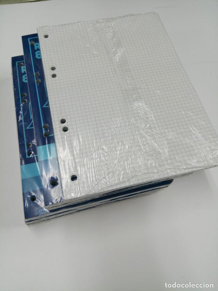 Coleccionismo Papel Varios: OFERTA! LOTE 10 RECAMBIOS CENTAURO CUADRÍCULA 21,5CM X 15,5CM PARA BLOC ANILLAS 6 TALADROS - Foto 2 - 223902601