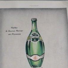 Outros artigos de papel: ANONYMOUS - PERRIER+HENNSSY - 1938 - DÉCADA DE 1930. Lote 224493221