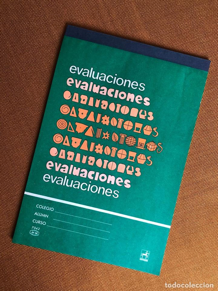 CUADERNO EVALUACIONES. PROFESOR. ALUMNO. EGB. AÑOS 70. CENTAURO. FRANQUISMO. ESPAÑA (Coleccionismo en Papel - Varios)