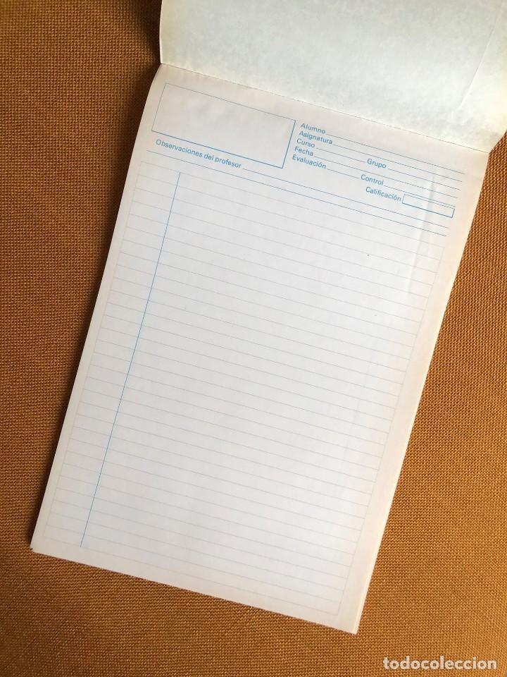 Coleccionismo Papel Varios: Cuaderno Evaluaciones. Profesor. Alumno. EGB. Años 70. Centauro. Franquismo. España - Foto 2 - 224678240