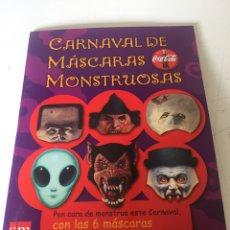 Coleccionismo Papel Varios: CARNAVAL DE MÁSCARAS MONSTRUOSAS. Lote 224912793
