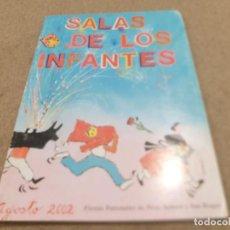 Coleccionismo Papel Varios: PROGRAMA DE FIESTAS DE SALAS DE LOS INFANTES (BURGOS)....2002... Lote 225040345