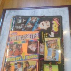 Outros artigos de papel: LOTE SUPER POP. CASETES, CARPETAS.. Lote 225973845