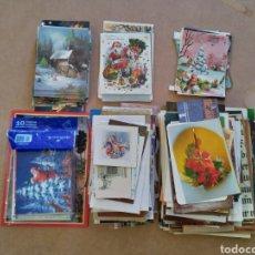 Coleccionismo Papel Varios: NAVIDAD GRAN LOTE CHRISTMAS FELICITACIONES Y MÁS PAPELES. Lote 226030000
