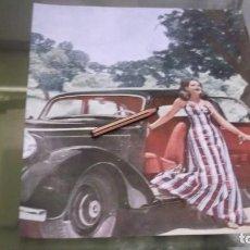 Coleccionismo Papel Varios: RECORTE AÑO 1947 -LA SRTA. MARITÁ VILLALONGA - CON AUTOMOVIL - FOTOGRAFIA DE CAMPÚA. Lote 226904255
