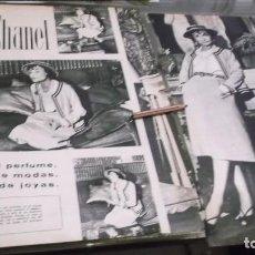 Altri oggetti di carta: RECORTE AÑO 1957- COCO CHANEL ,REINA DEL PERFUME CREADORA DE MODAS Y JOYAS-ATRAS MYRURGIA Y FERRYS. Lote 228196780