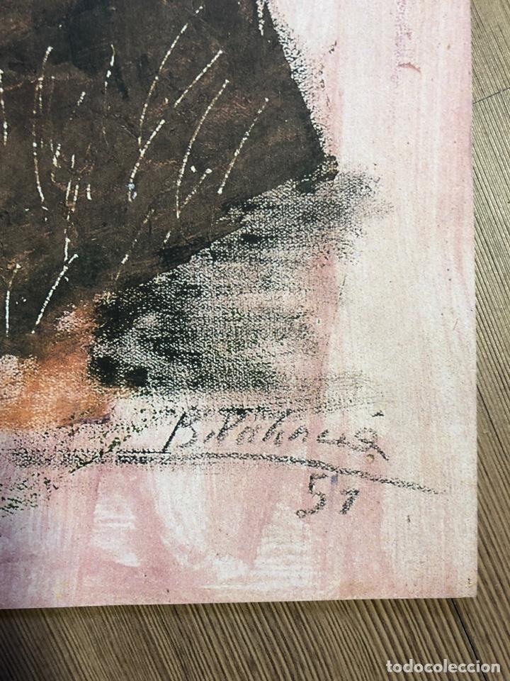 Coleccionismo Papel Varios: Lamina de arte de la colección privada de abc BENJAMIN PALENCIA 47x33cm - Foto 2 - 228274375