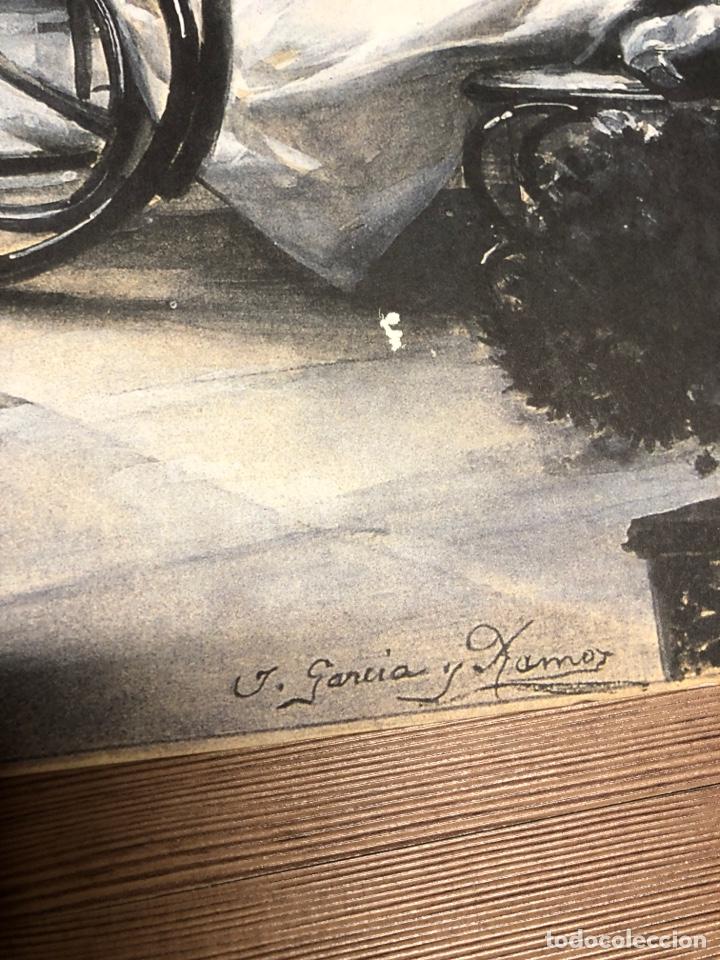 Coleccionismo Papel Varios: Lamina de arte de la colección privada de abc JOSE GARCIA RAMOS 42x29cm - Foto 2 - 228417840