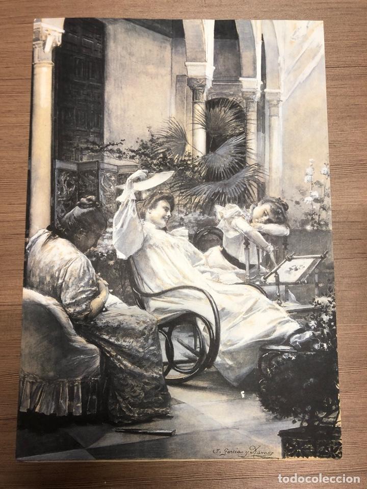 LAMINA DE ARTE DE LA COLECCIÓN PRIVADA DE ABC JOSE GARCIA RAMOS 42X29CM (Coleccionismo en Papel - Varios)