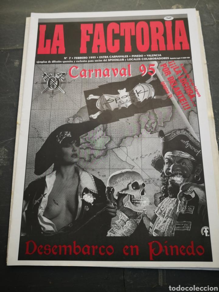 SPOOK FACTORY REVISTA LA FACTORIA N7 FEBRERO 1995 (Coleccionismo en Papel - Varios)