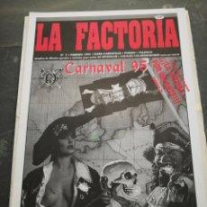Coleccionismo Papel Varios: SPOOK FACTORY REVISTA LA FACTORIA N7 FEBRERO 1995. Lote 228453390
