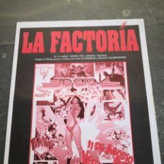 Coleccionismo Papel Varios: SPOOK FACTORY REVISTA LA FACTORIA N 11 1995. Lote 228454055