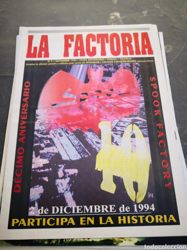 SPOOK FACTORY REVISTA LA FACTORIA 1994 N5 (Coleccionismo en Papel - Varios)